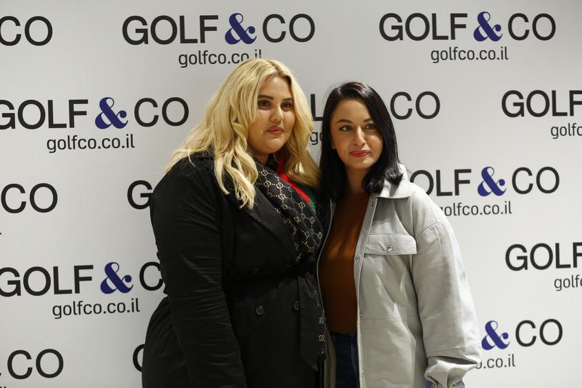 מאיה בוסקילה ושמחה גואטה בהשקת סניף גולף. צילום: פבל