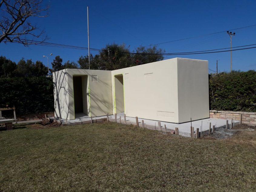 """ממ""""ד בבית העלמין הצבאי צילום: בית יד לבנים"""