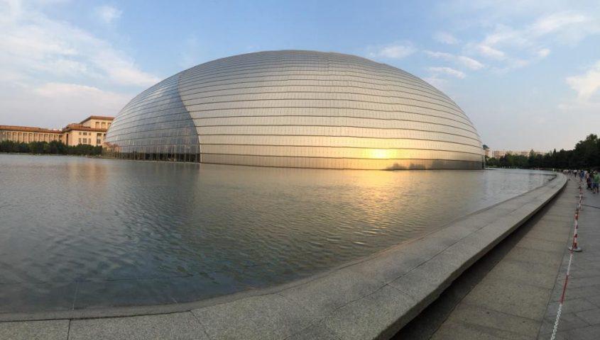ההיכל הלאומי לאמנויות הבמה בסין. צילום: חנה מנור