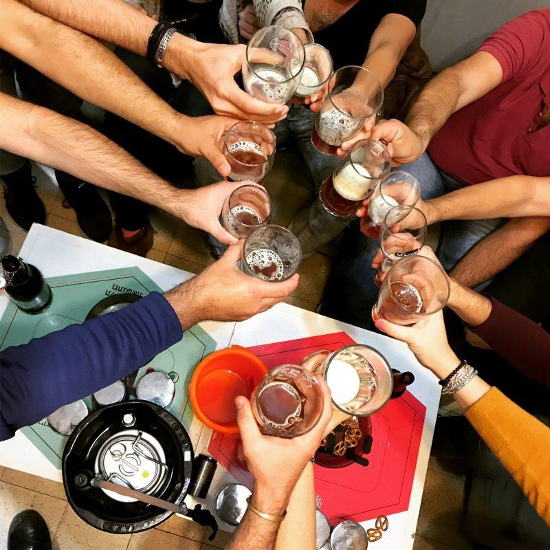 """סדנת בירה מומלצת: """"בועה"""" שכולה הנאה. צילום עצמי"""