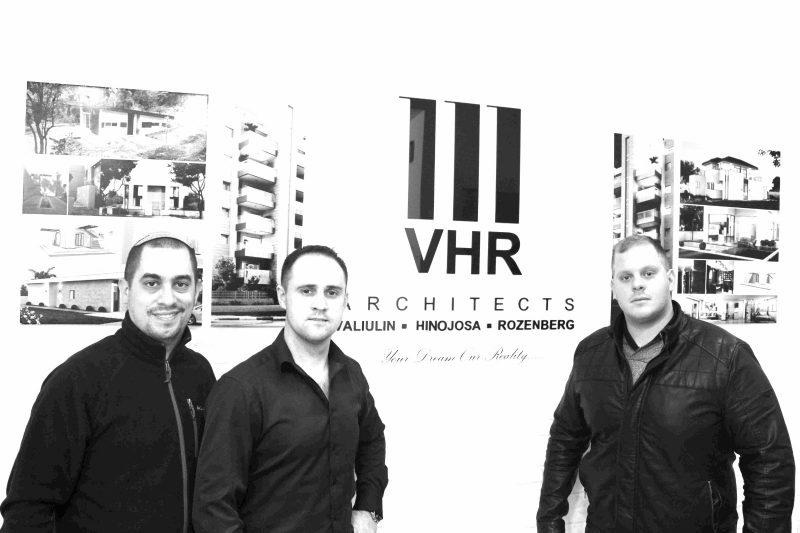 שלושת השותפים. צילום: מקסימיליאנו אינוחוסה, VHR-Architects