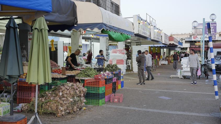 קניות אחרונות לפני הסגר אזור ו׳. צילום: פבל