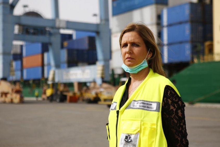 """יו""""ר דירקטוריון חברת נמל אשדוד, אורנה הוזמן-בכור. צילום: פבל טולצ'ינסקי"""