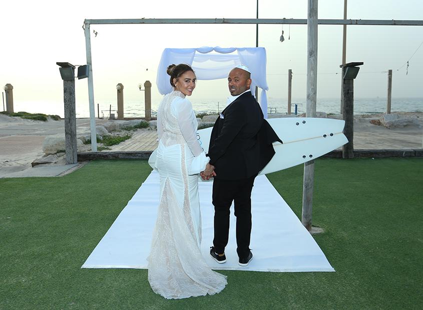 ענת וגל דהן חתונה בשידור חי. צילום: שלומי דדון.
