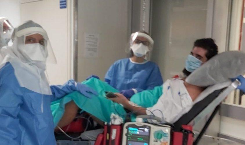 אפיק סויסה מאשדוד שוחרר מבית החולים להמשך שיקום. צפו