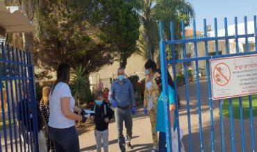 חוזרים ללימודים בגן יבנה. צילום: דוברות המועצה המקומית גן יבנה