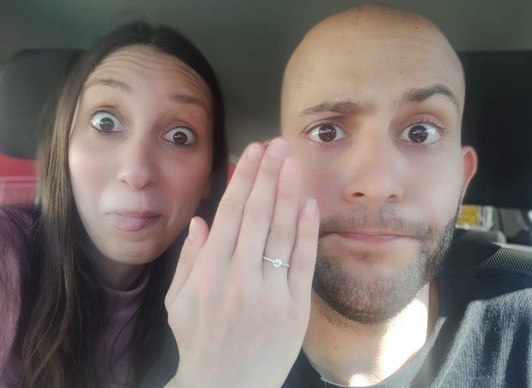 צפו: הצעת הנישואים המרגשת בימי הקורונה
