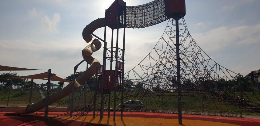 הפארק על שם רונה רמון בגן יבנה. צילום: המועצה המקומית
