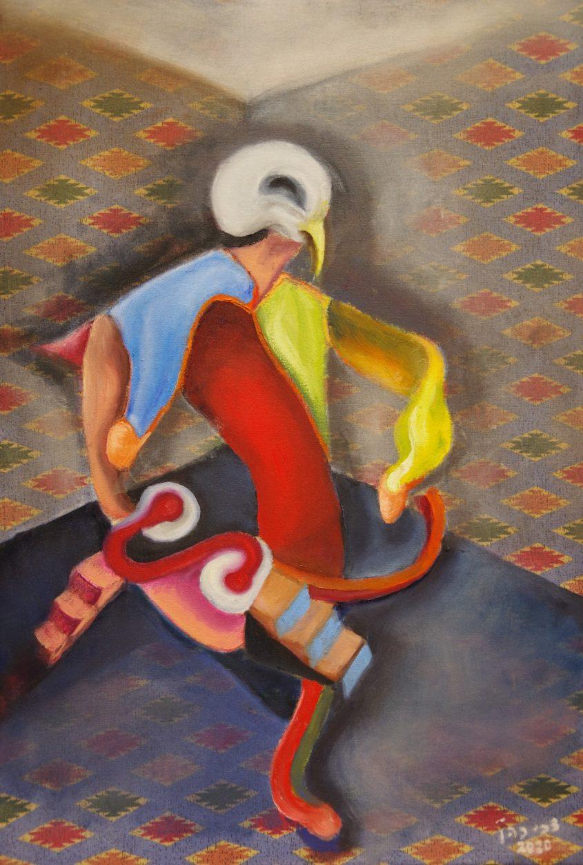 יצירה של האמן צביקה כהן
