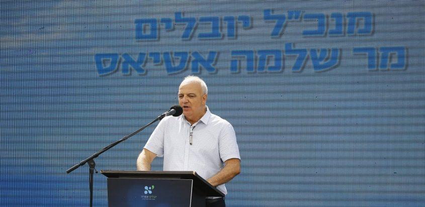 מנכ״ל תאגיד המים והביוב של אשדוד יובלים, שלמה אטיאס. צילום: פבל