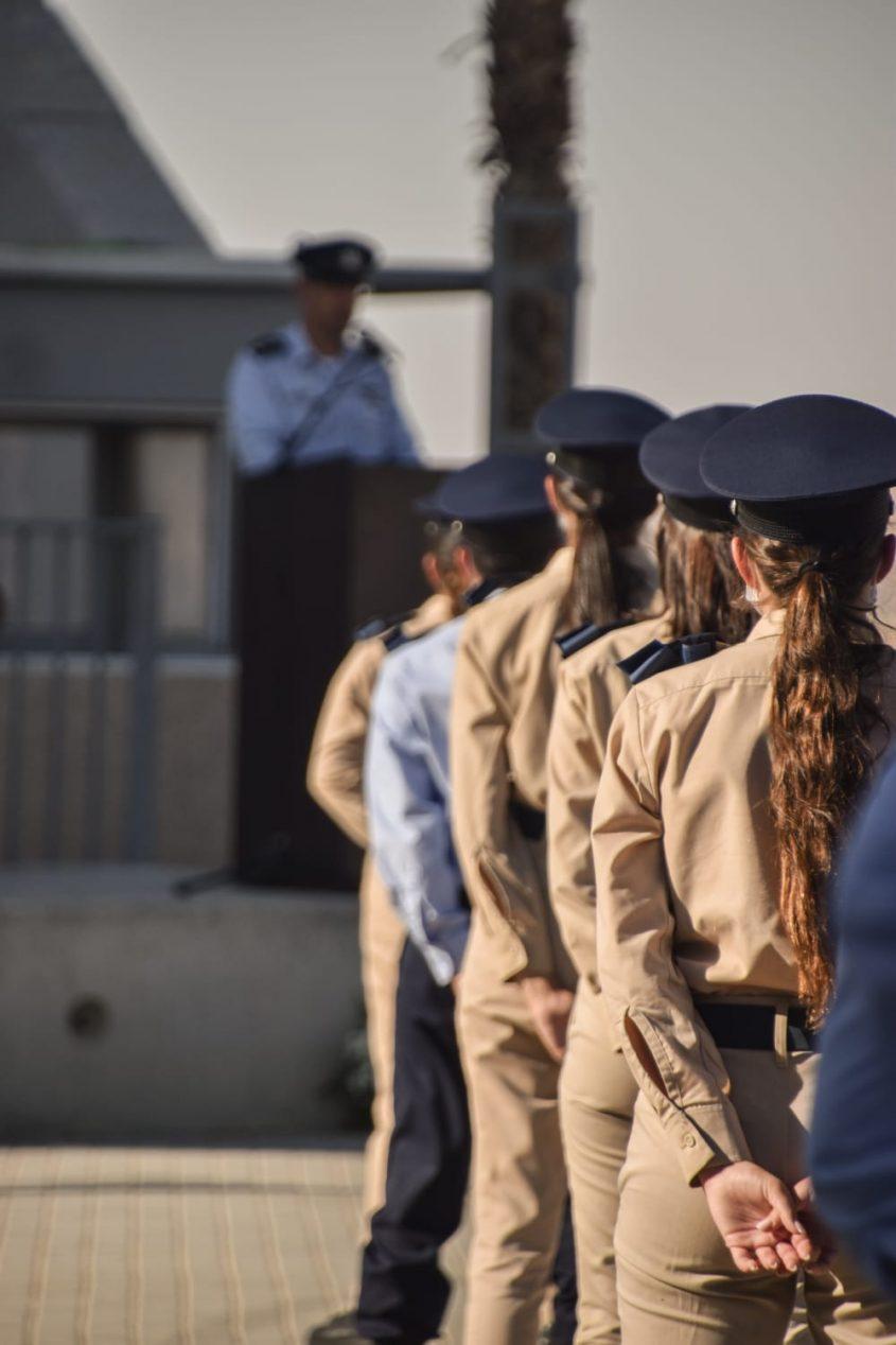 """סיום קורס קצינים. צילום: דובר צה""""ל"""