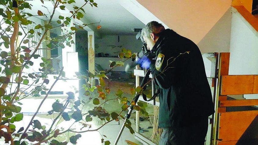 זירת הרצח באשדוד. צילום: דוברות המשטרה