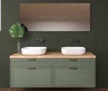 ארונות אמבטיה, מקלחונים ומה שביניהם. תמונה באדיבות קרמיקה אביב