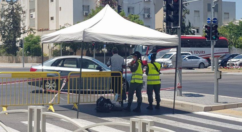 עשרות נדבקי קורונה מאשדוד פונו למלוניות מאז אתמול