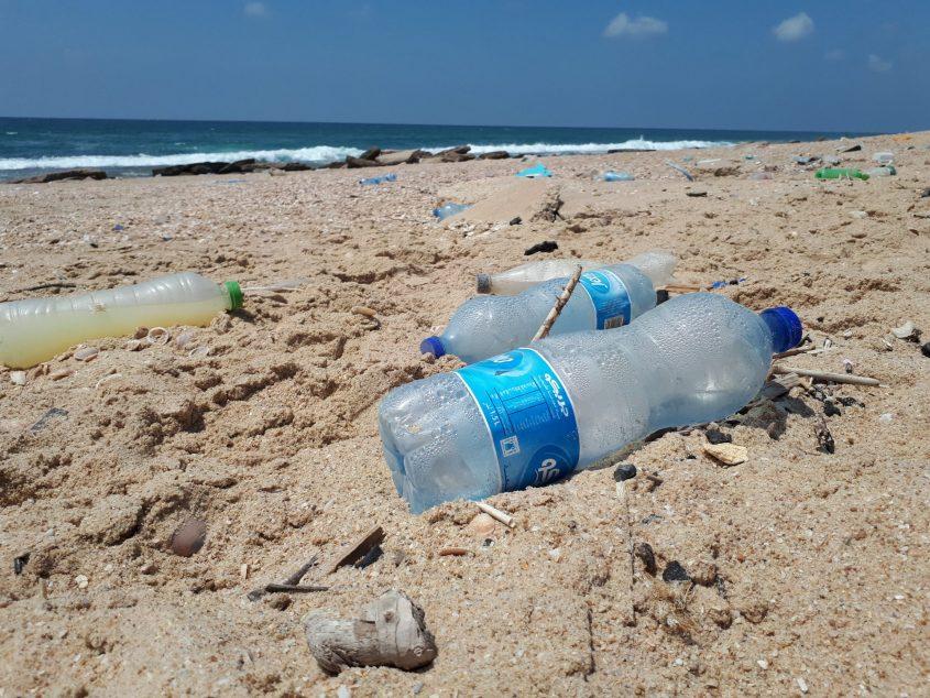 כחול אשר על שפת הים: עוד פלסטיק. צילום: דור גפניכחול אשר על שפת הים: עוד פלסטיק. צילום: דור גפני