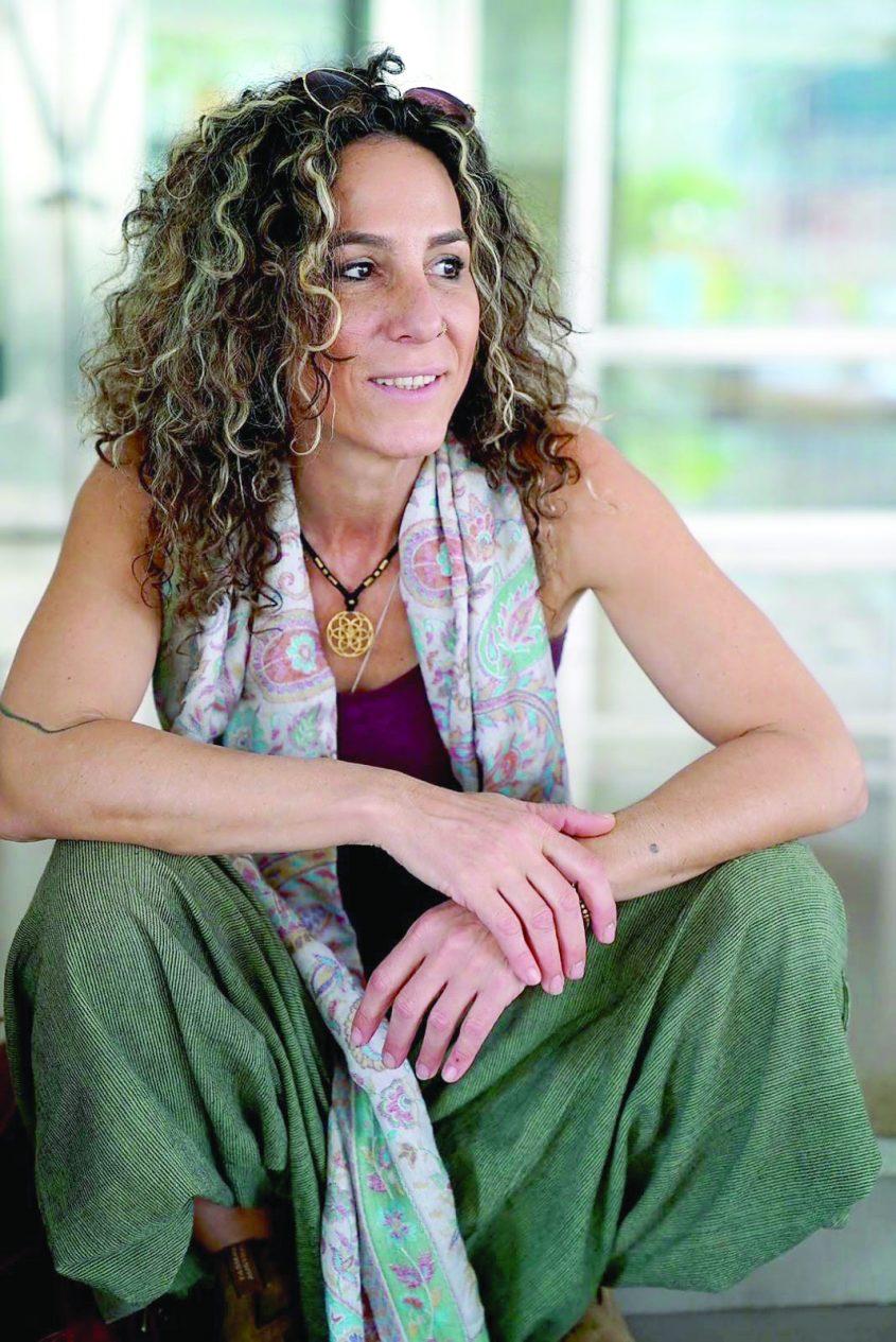 הבימאית מירב אלבז אלטחן. צילום חנה טייב