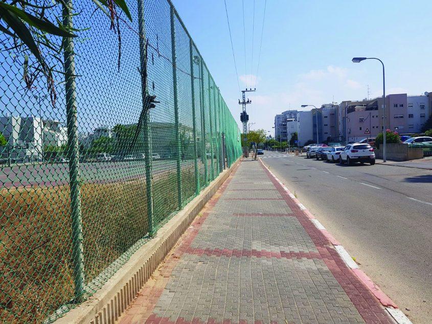 רחוב המלך רחבעם. צילום: אסף ליבוביץ'