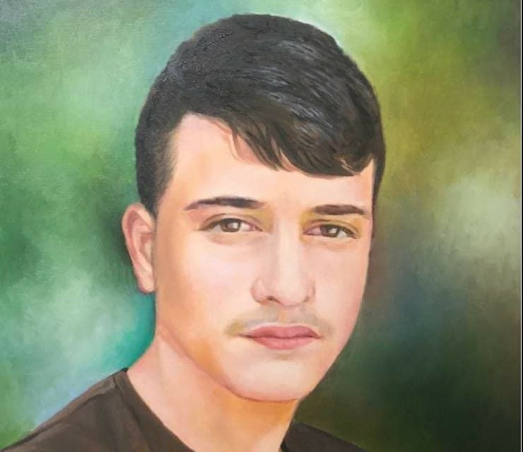 """גיא שטיינפאייר ז""""ל. הציור באדיבות המשפחה"""