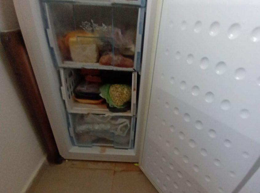 האוכל במקרר התקלקל. צילום: אבלין אלמקייס