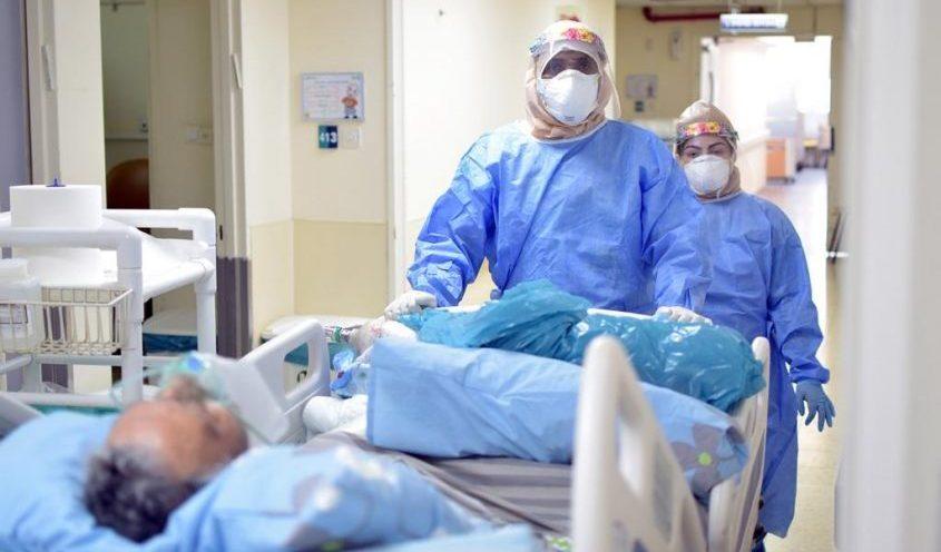 מחלקת הקורונה בקפלן. צילום: המרכז הרפואי קפלן