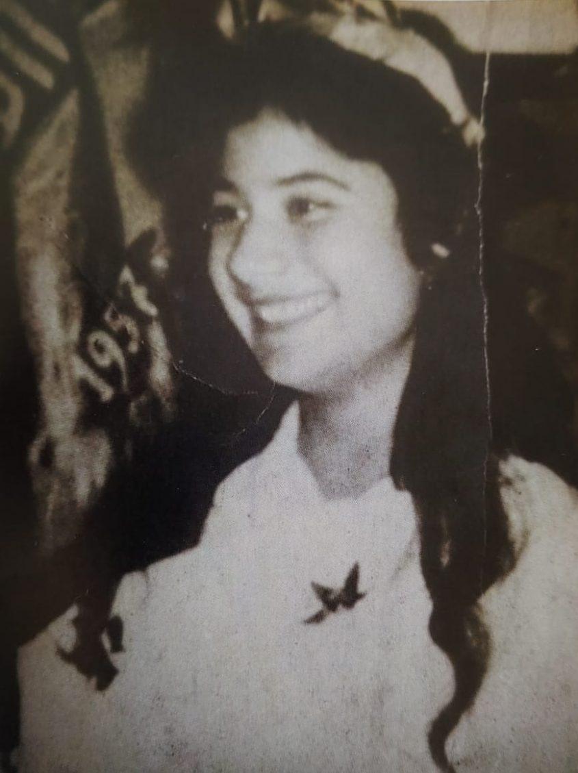 """אסתר אשכנזי ז""""ל, רק בת 17 וחצי במותה. צילום מהספר"""