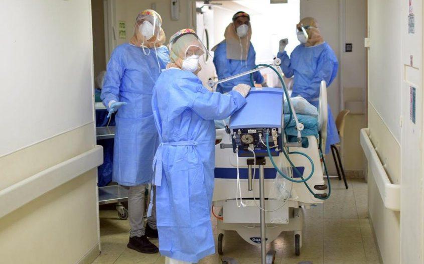מחלקה פנימית שהוסבה למחלקת קורונה נוספת צילום: מרכז רפואי קפלן