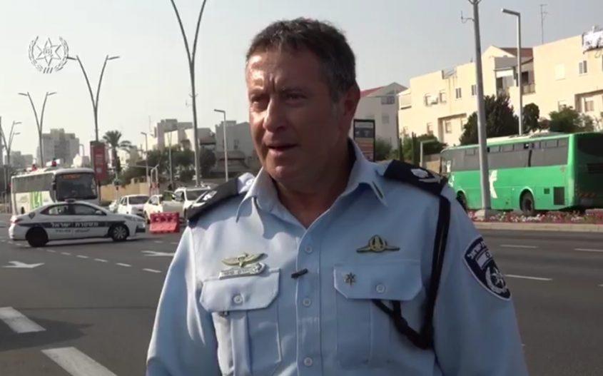 מפקד המחוז הדרומי במשטרה, ניצב יורם סופר. צילום: דוברות המשטרה