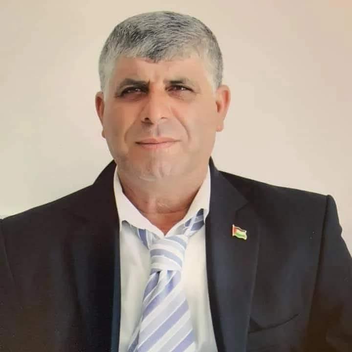 """אחמד סובחי ריאן ז""""ל בן 55. התמונה פורסמה באתר רמאללה און ליין"""