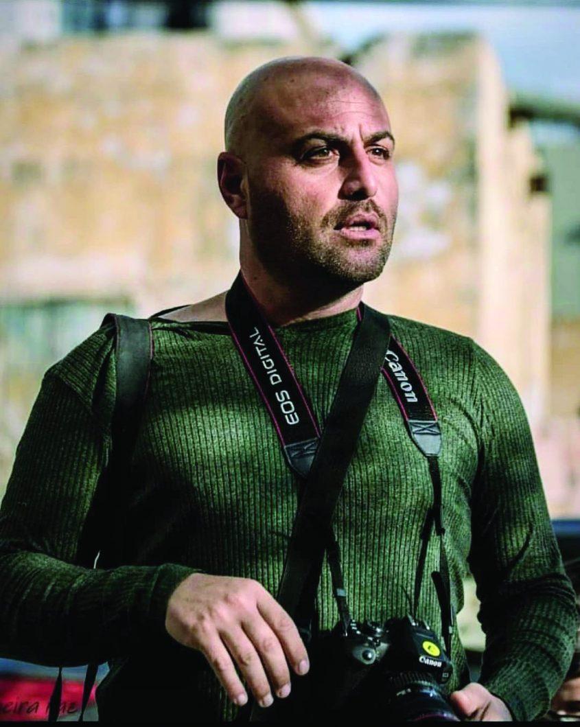 יגאל סלבין בפעולה צילום רפי קורן