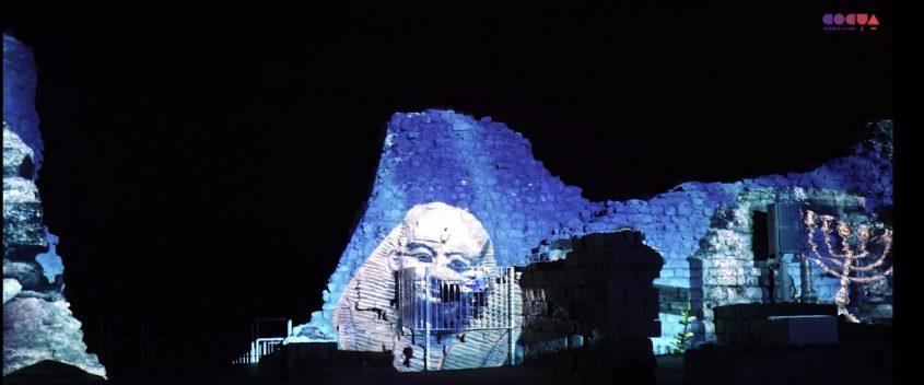 צפו: חיזיון אור קולי ראשון מסוגו במצודת אשדוד ים