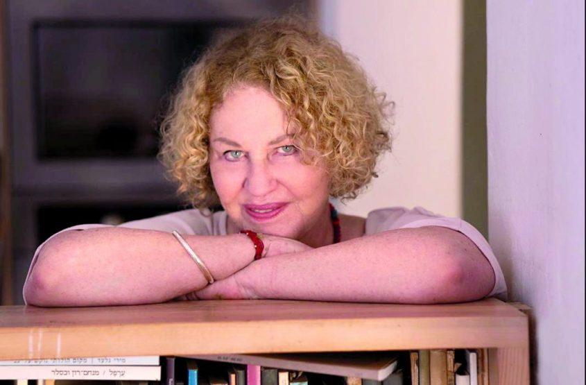 המשוררת אגי משעול צילום פוני בז'יז'ינסקי