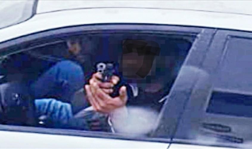 ירי. צילום ארכיון: דוברות המשטרה
