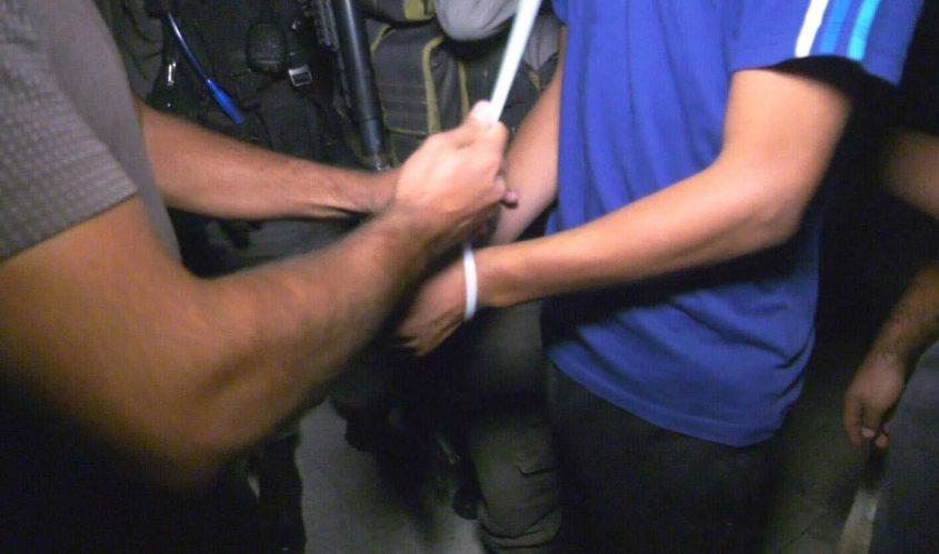 מעצר. צילום ארכיון: דוברות המשטרה