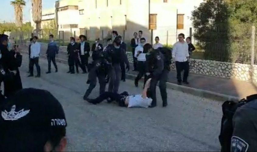 מעצרים במקום. צילום: דיווחים לכיש דרום