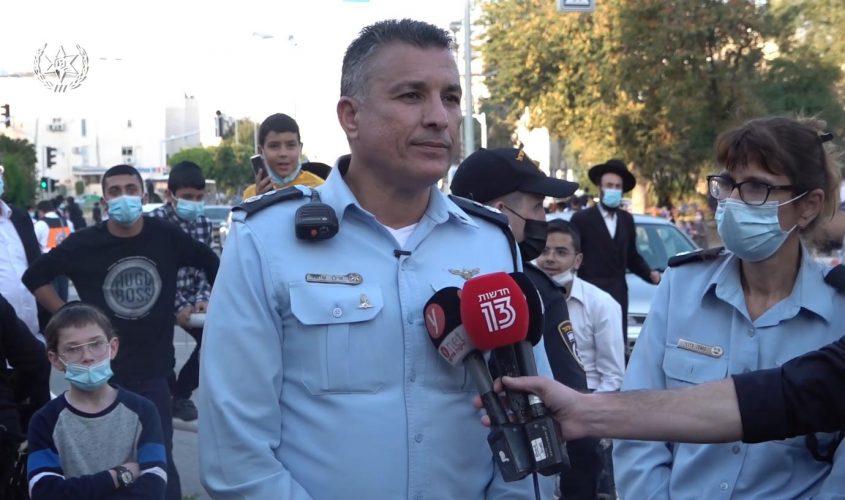 """סנ""""צ אילן שושן, מפקד תחנת אשדוד. צילום: דוברות המשטרה"""