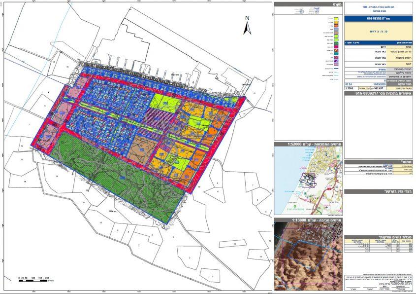 התוכנית לבנייה בשטח שמורת ניצנים