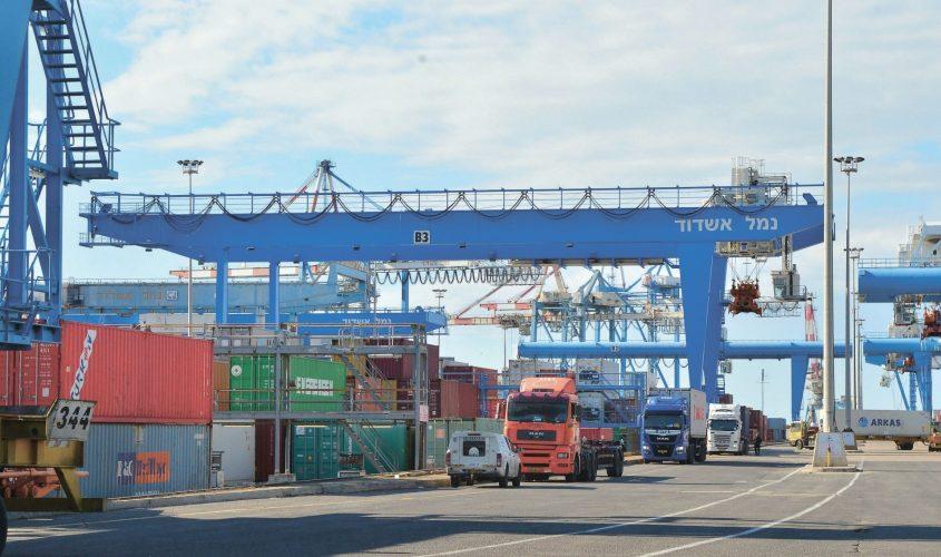 נמל אשדוד. צילום: אורי קריספין