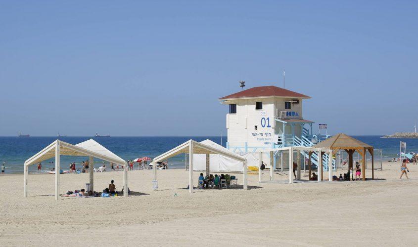 חוף מי עמי. צילום: פבל
