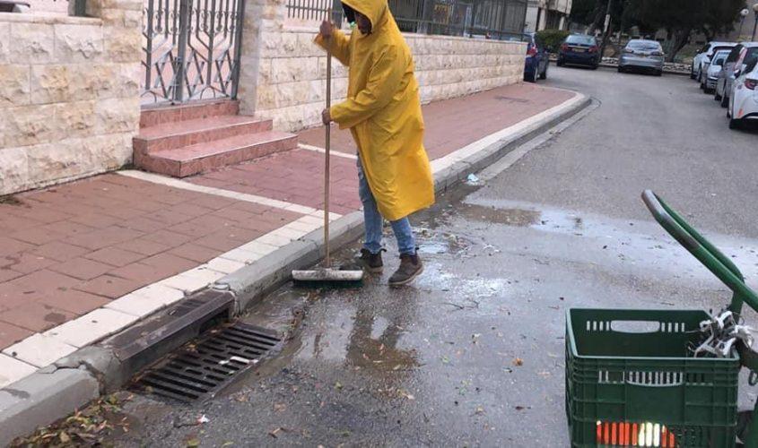 מנקים קולטנים. צילום: עיריית אשדוד