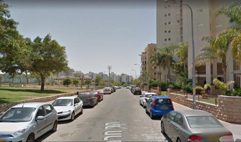 רחוב חרמון באשדוד. מתוך: גוגל סטריט וויו