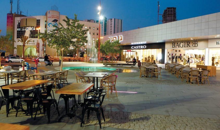 """מתחם גן העיר באשדוד. צילום: יח""""צ"""