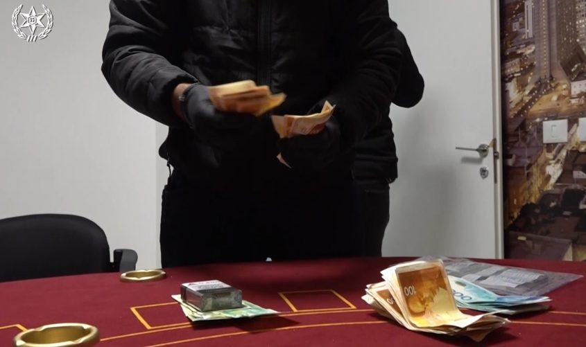 בתי הימורים. צילום: דוברות המשטרה