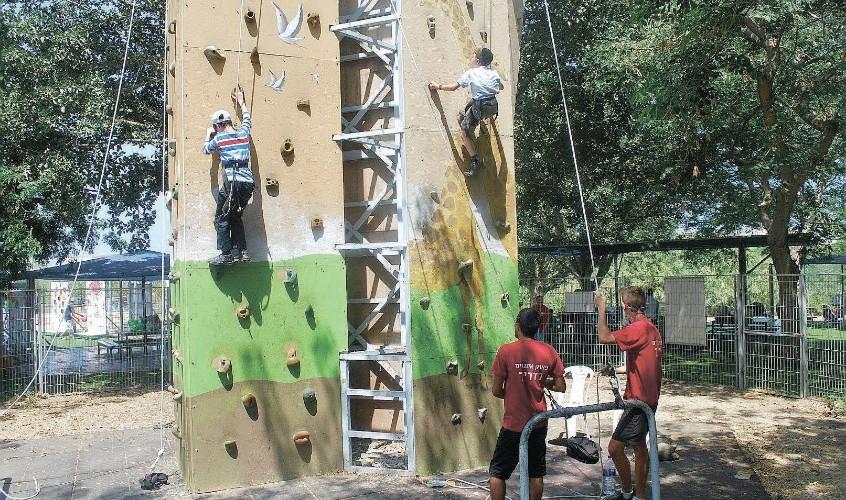 פארק אתגרים. צילום: עיריית אשדוד