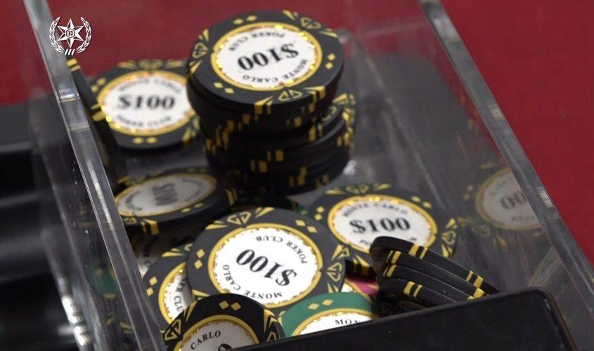 הימורים. צילום: דוברות המשטרה