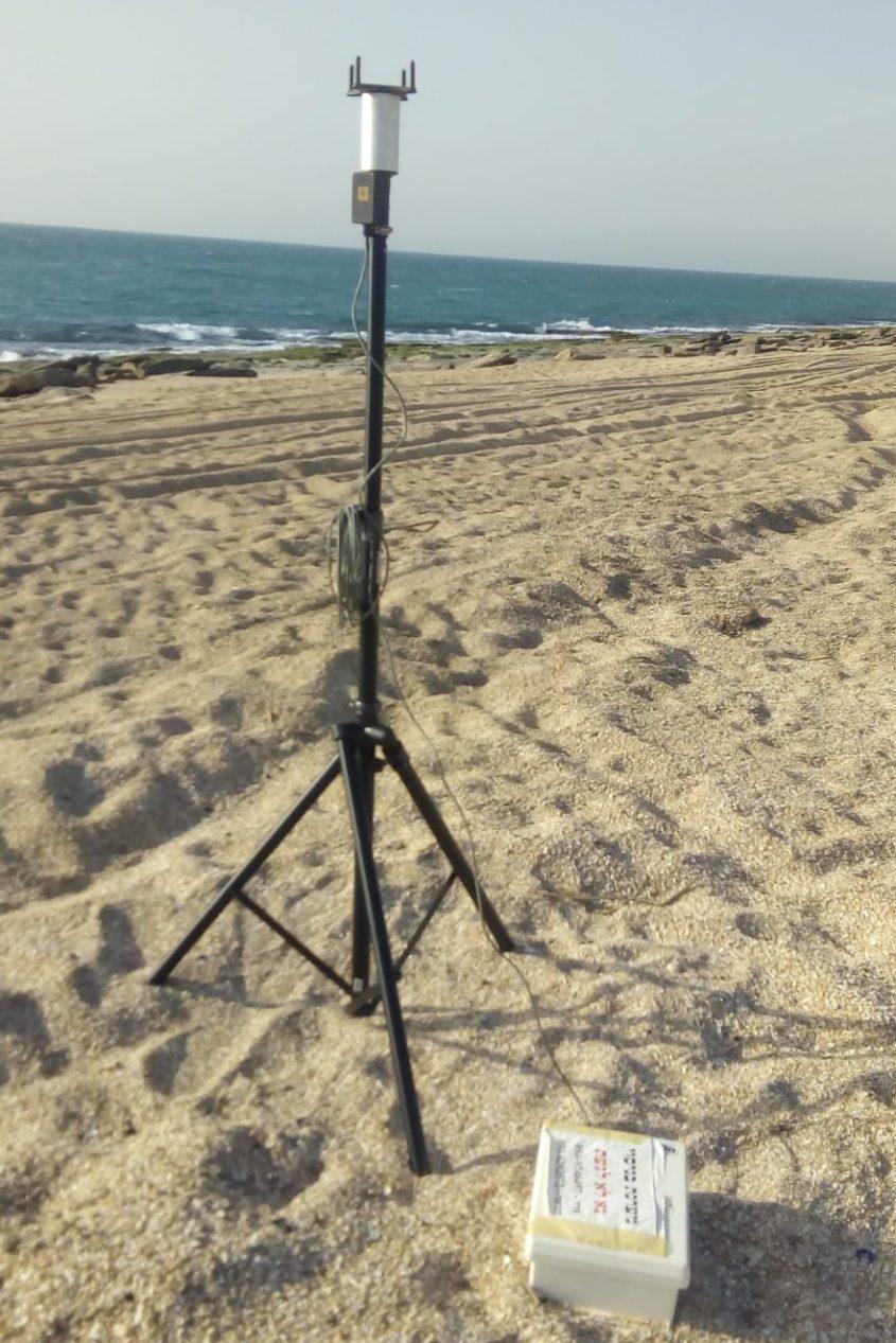 הציוד בחוף. צילום: אסי פרוינד