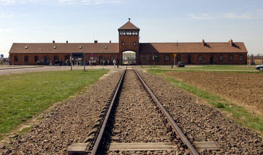 """מחנה אושוויץ. צילום: שמה מילנר/לע""""מ"""