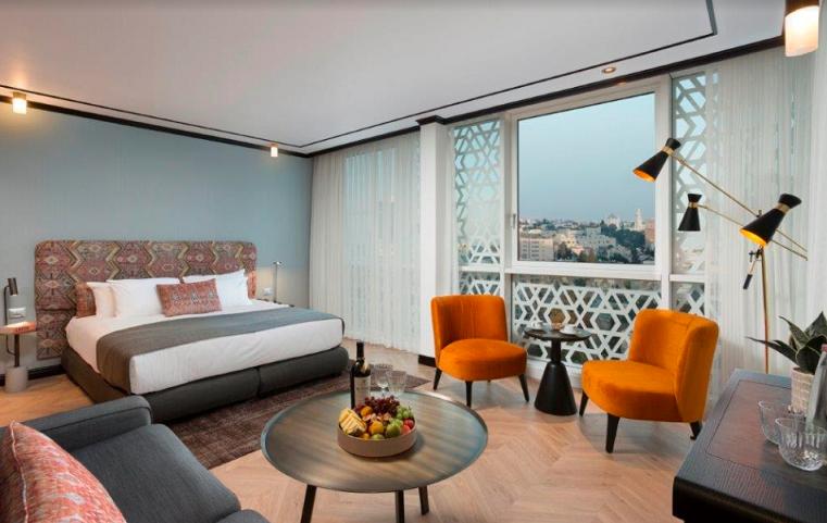 מלון בת שבע ירושלים. צילום: אורי אקרמן