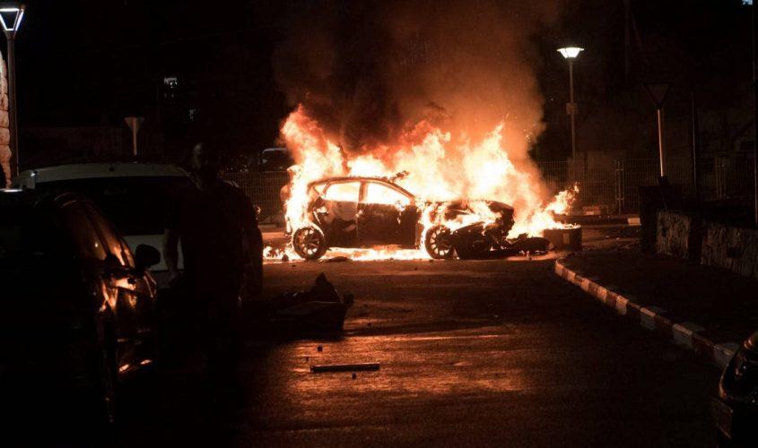 המהומות בארץ. צילום: רמי שלוש