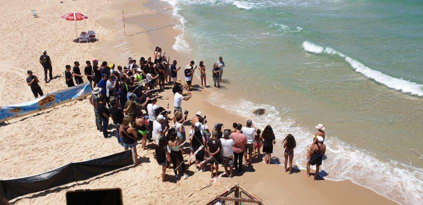 הקהל שהשתתף והתרגש. צילום: עיריית אשדוד