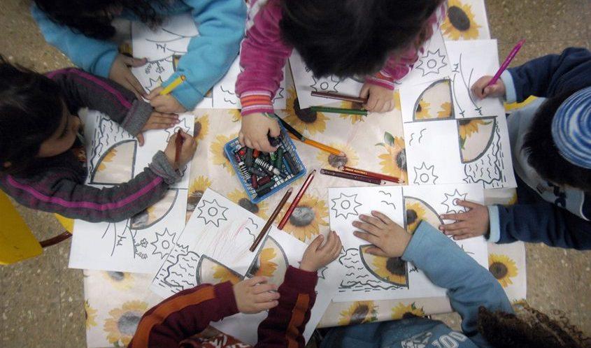 צהרון בגן ילדים. צילום: תומר אפלבאום-באובאו